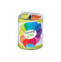 Antspaudo pagalvėlių rinkinys Aladine Stampo Izink 10vnt. vitamine