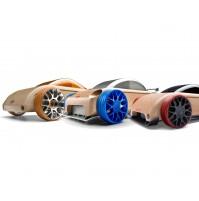 Žaislinis automobilis Automoblox Mini 3vnt. S9-R/C9-R/C9-S