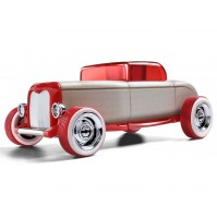 Žaislinis automobilis Automoblox Mini HR-1 hotrod coupe red