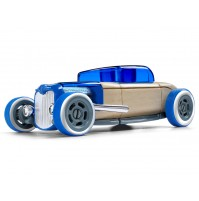 Žaislinis automobilis Automoblox Mini HR-3 hotrod coupe blue