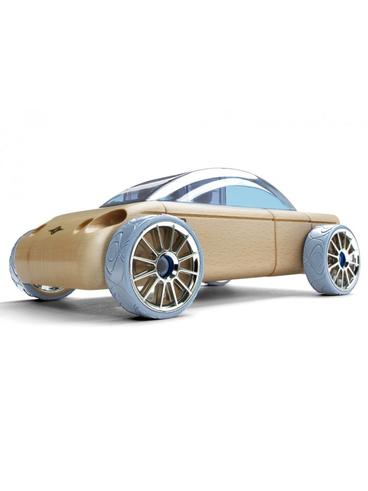 Žaislinis automobilis Automoblox Mini S9 sedan light blue