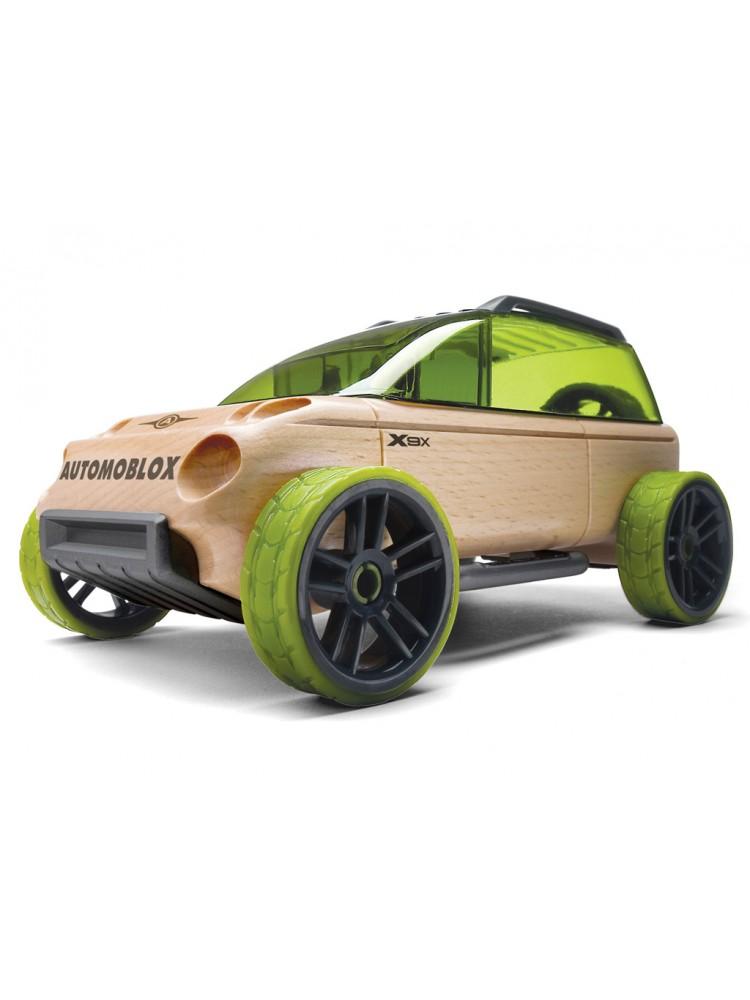Žaislinis automobilis Automoblox Mini X9-X sport utility green