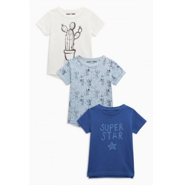 Next marškinėliai 3 vnt. ( kod. 01768 )