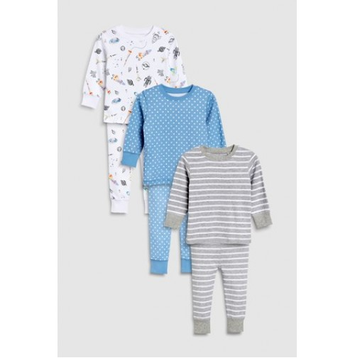 Next pižamos 3 vnt. ( kod. 01834 )