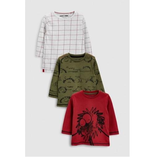 Next marškinėliai 3 vnt. ( kod. 01858 )