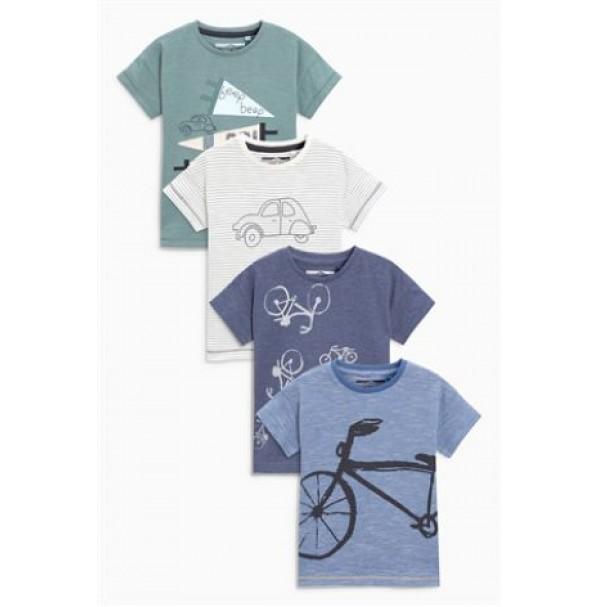 Next marškinėliai 4 vnt. ( kod. 01874 )