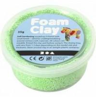 Burbulinis modelinas - šviesiai žalia spalva 35 gr