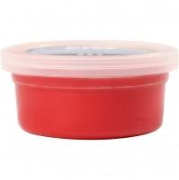 Šilkinis modelinas - raudona spalva, 40 gr