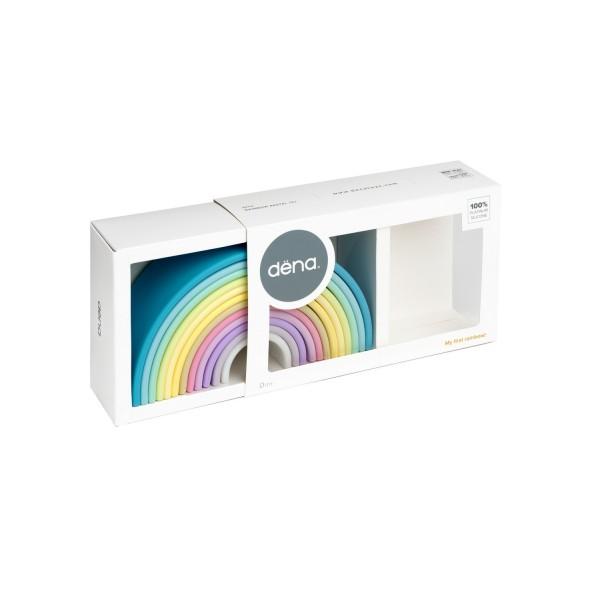 DENA silikoninė vaivorykštė - 12 pastelinė
