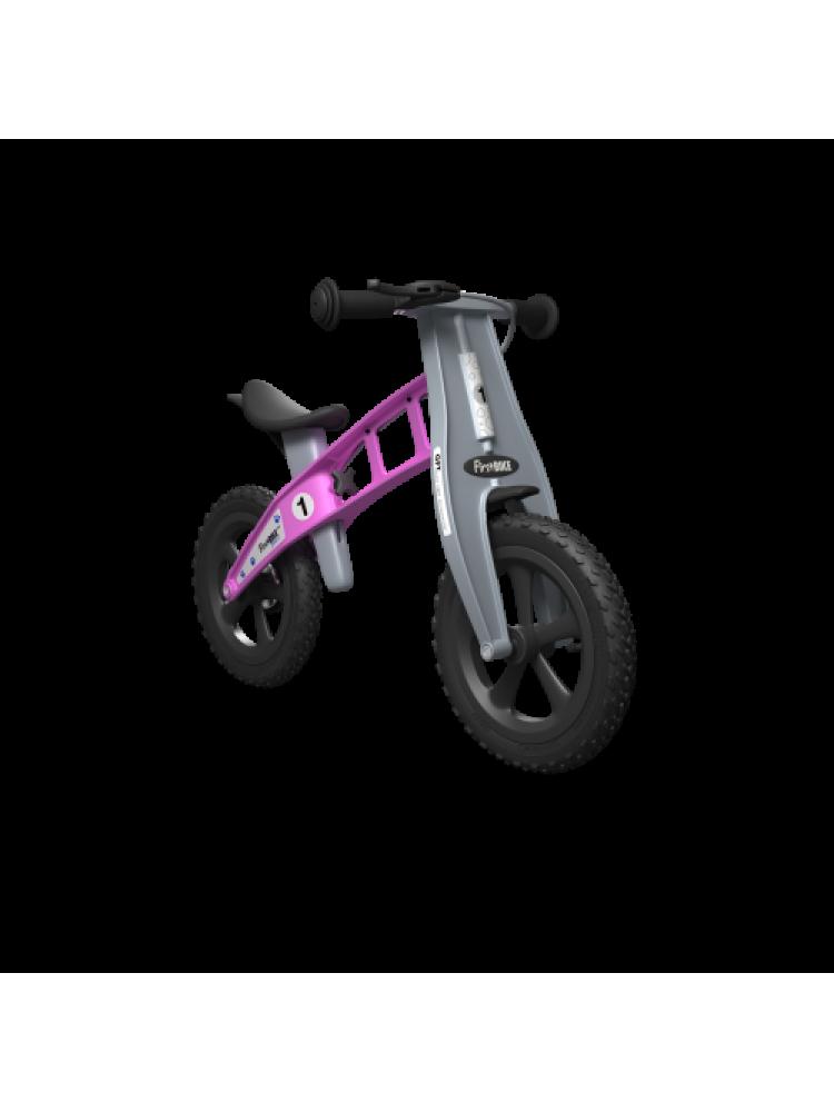 Balansinis dviratis FirstBike CROSS ROŽINIS