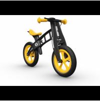Balansinis dviratis FirstBike SPECIAL GELTONAS