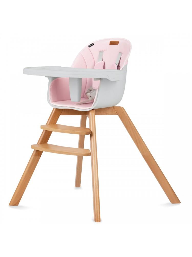 Maitinimo kėdutė NOBIS Rožinė 2 in 1
