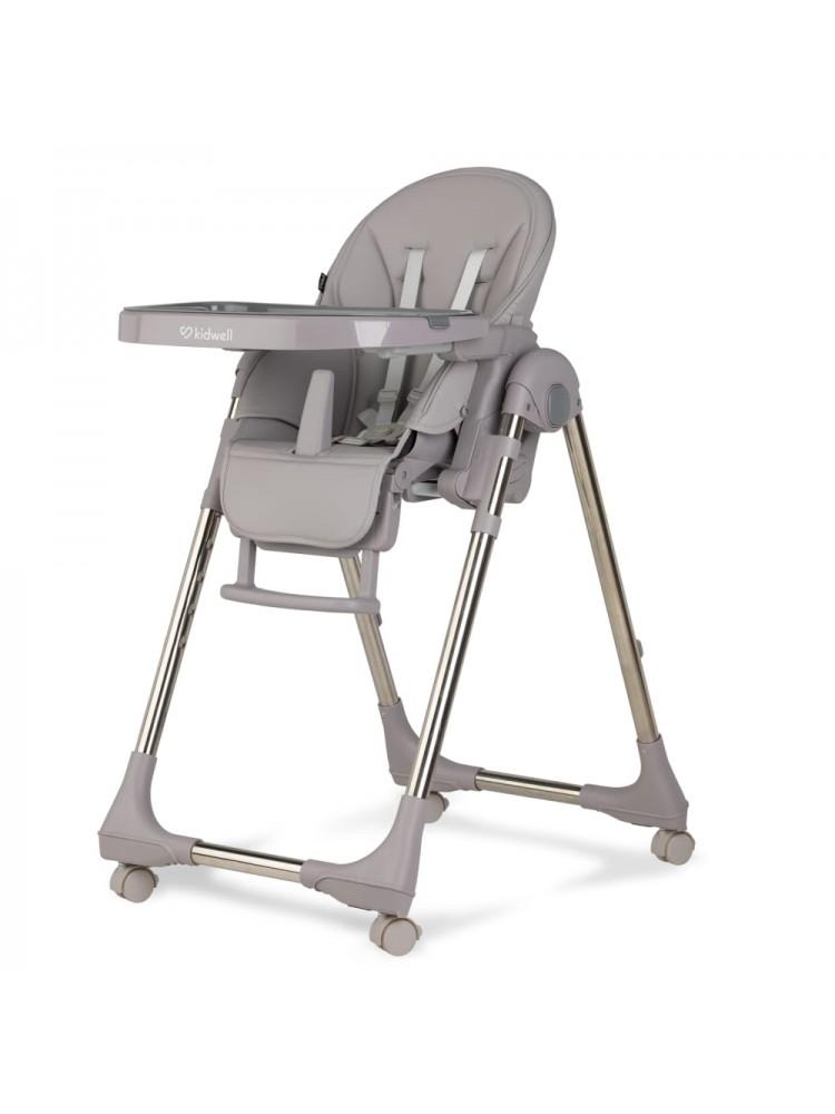 Maitinimo kėdutė BENTO, chromuota - pilka