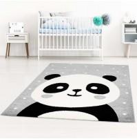"""Pilkas kilimas """"Panda"""""""