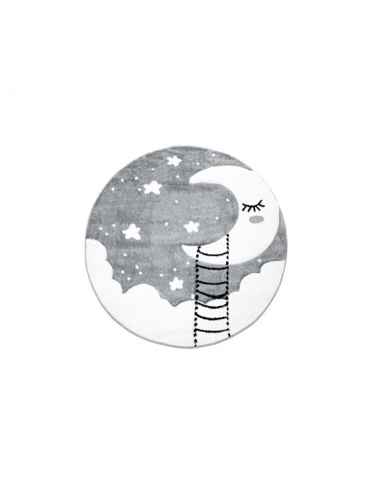 """Pilkas vaikiškas kilimas """"Mėnulyje"""""""
