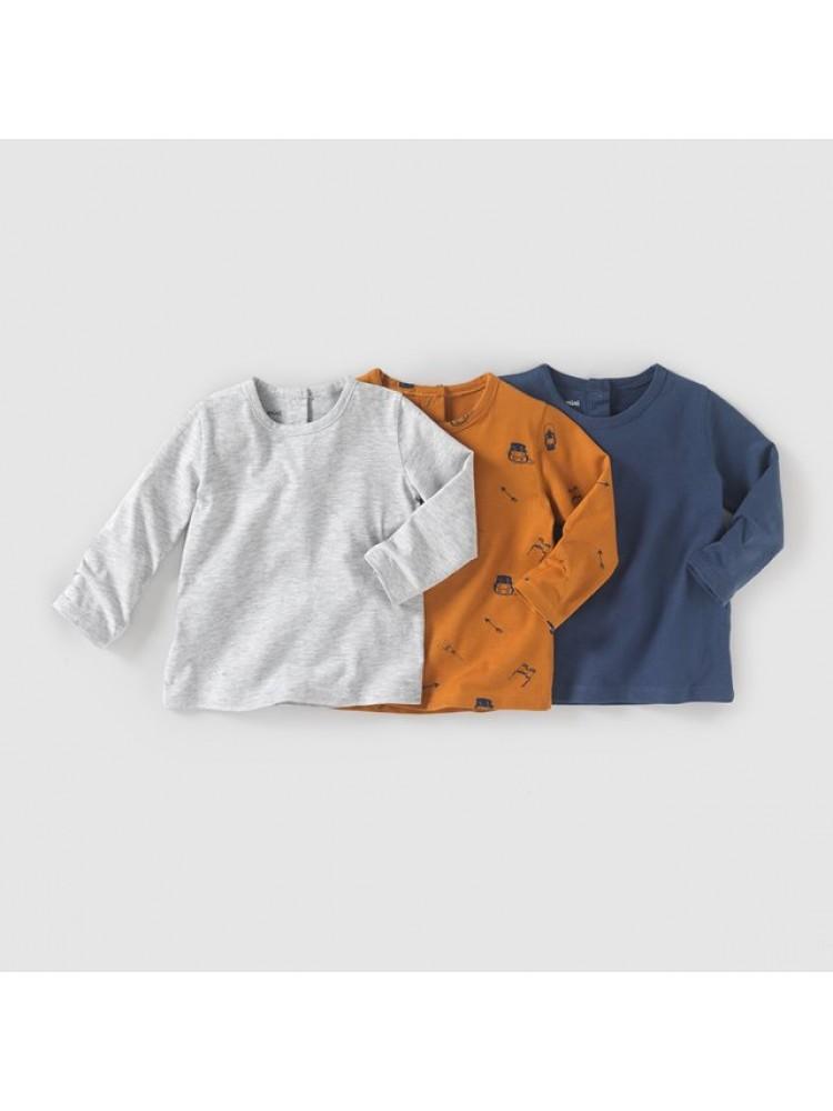 LaRedoute marškinėliai 3vnt. ( kod. 01541 )