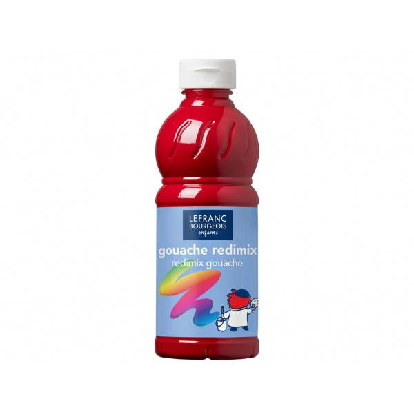 Guašas Redimix 500ml 437 primary red