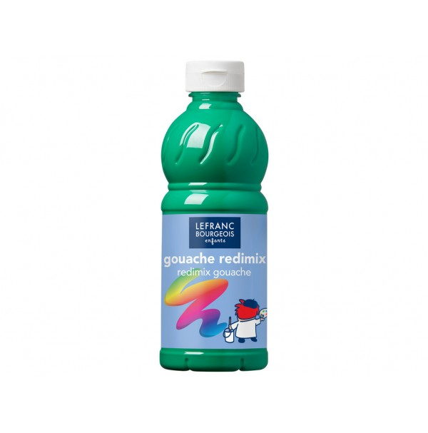 Guašas Redimix 500ml 563 brilliant green