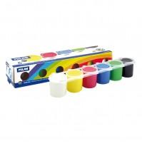 Milan guašas, 6 spalvų, 25ml
