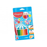Spalvotas pieštukas Maped Color'Peps Early Age Jumbo