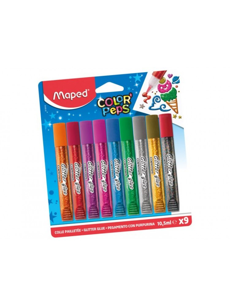 Blizgūs klijai Maped Color'Peps