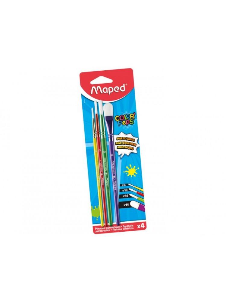 Teptukų rinkinys Maped ColorPeps - 4vnt.