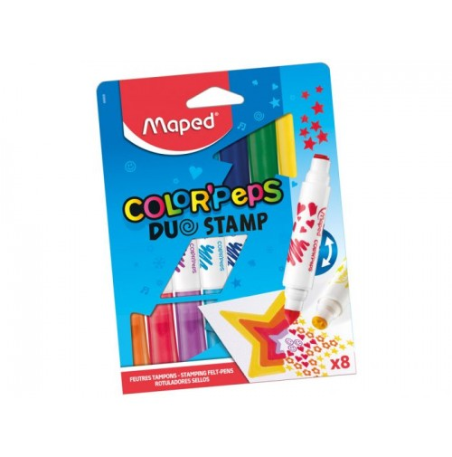 Flomasteris Maped Color'Peps Duo Stamp