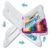 Spalvotas pieštukas ColorPeps 12vnt.+pieštukas+drožtukas+trintukas