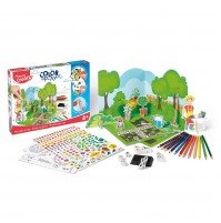 Meistravimo komplektas Maped Creativ Color&Play Design my Garden