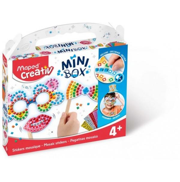 Mozaikos lipdukų rinkinys Maped Creativ Mini Box