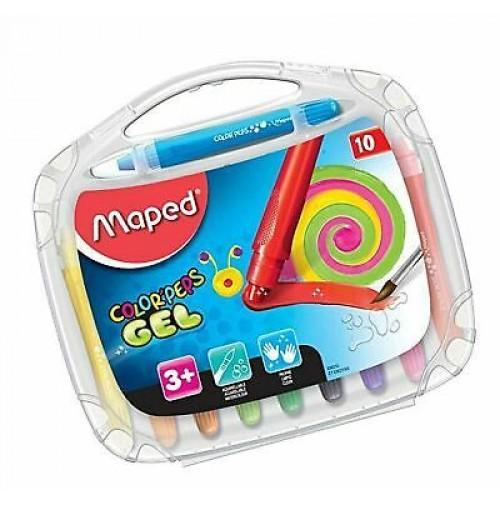 Gelinės kreidelės ColorPeps 10vnt. plastikinė dėžutė
