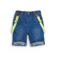 Next džinsiniai šortai su petnešom ( kod. 00918 )
