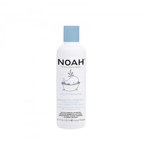 Kreminis dušo losjonas su pienu ir cukrumi vaikams, 250ml, NOAH
