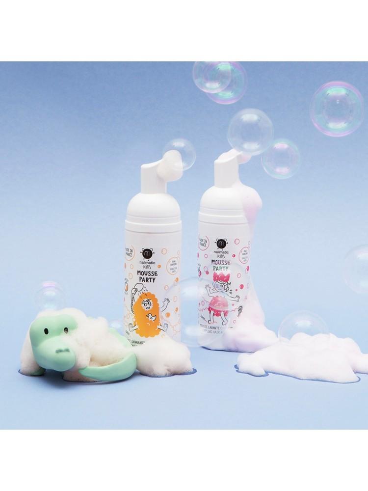 Strawberry Mousse Party Foaming Hair & Body Wash Vonios putos, 150ml