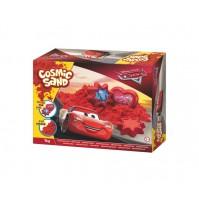Kinetinis smėlis CARS 1 kg raudonas