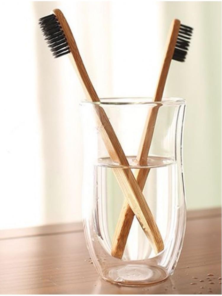 Bambukinis dantų šepetėlis