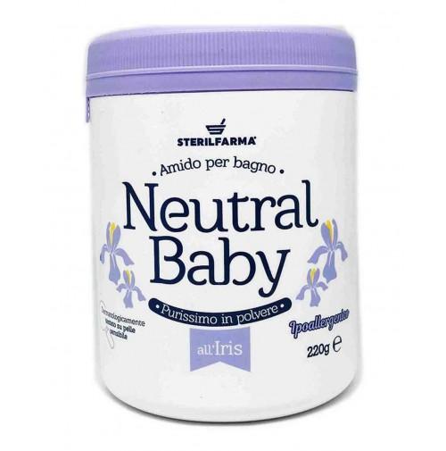 Neutral Baby vilkdalgių kvapo ryžių milteliai voniai, 220 g