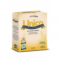 UNICO ryžių ir avižų milteliai voniai, 10 x 15 g.