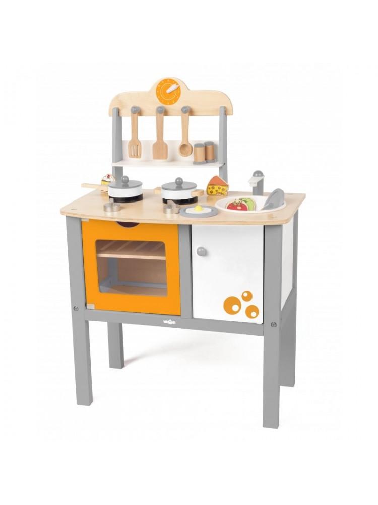 """Medinė virtuvėlė  """"Buona Cucina"""""""
