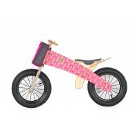 """DIP DAP balansinis dviratis nuo 2m. """" PINK BEAR"""""""