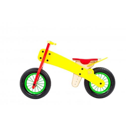 """DIP DAP balansinis dviratukas nuo 2m. """"Geltonasis pavasaris"""""""