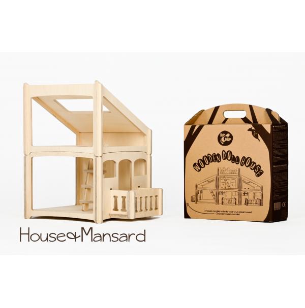 Dip Dap modulinis namas su mansarda