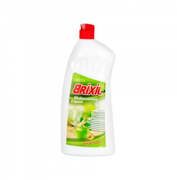 """Indų plovimo priemonė Obuolių kvapo """"Brixil Dishwashing Liquid"""" - 1l."""