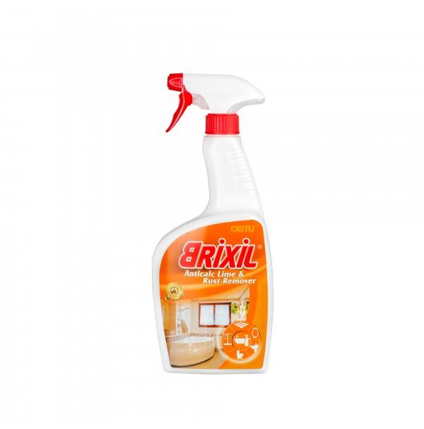 """Vonios paviršių valymo priemonė kalkių ir rūdžių nuosėdoms šalinti """"Brixil Anticalc Lime & Rust Remover"""" - 750ml."""