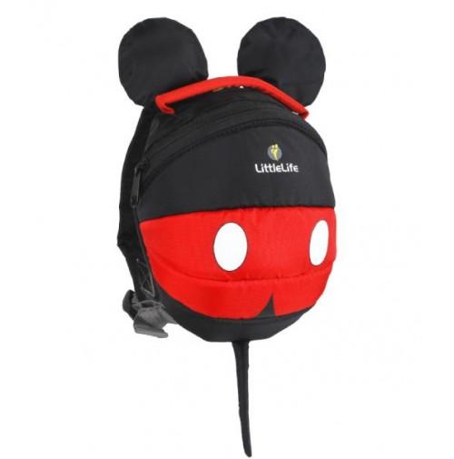 LittleLife vaikiška kuprinė Mickey Mouse (1-3 metų vaikams)