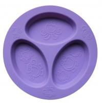 Oogaa silikoninė violetinė lėkštė