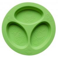 Oogaa silikoninė žalia lėkštė