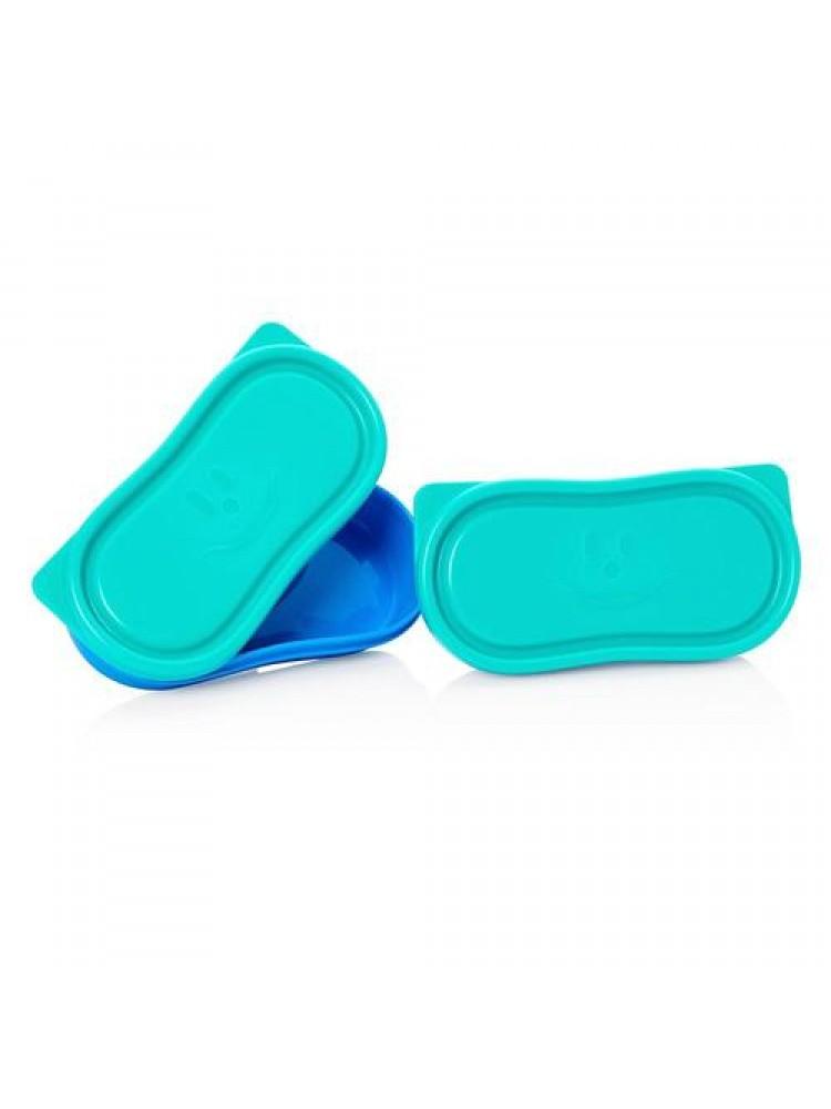 Maped Picnik dviejų užkandžių dėžučių pakuotė - blue
