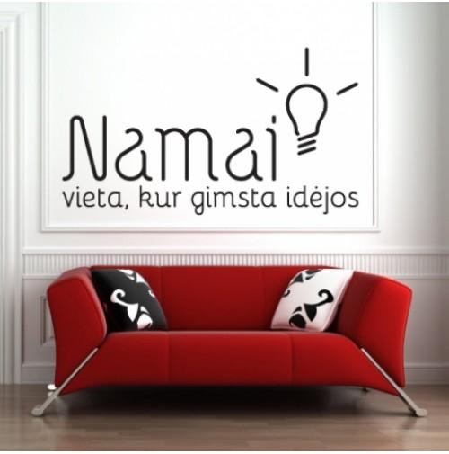 NAMAI - VIETA KUR GIMSTA IDĖJOS