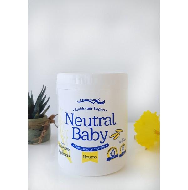 Neutral Baby bekvapiai ryžių milteliai voniai, 220g